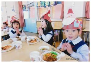 クリスマス会昼食1