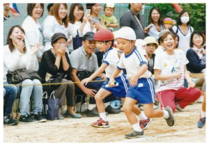 運動会リレー4歳児