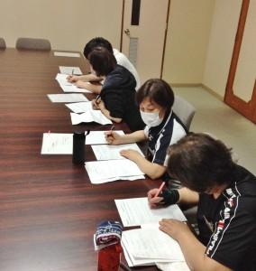 3月31日ケアスクール実習 (4)
