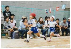 運動会リレー5歳児