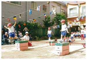 運動会3歳児2