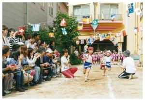 運動会リレー4歳児1