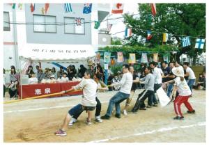 運動会親子競技