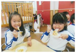焼き餅 きりん組1